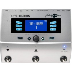 TC Helicon Play Electric Ének és Gitár Multieffekt Pedál