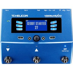 TC Helicon Voicelive Play Vocal Multi Effect Pedal