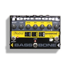 Bassbone V2 Bass Preamp and DI