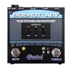 BigShot ABY True Bypass Switcher