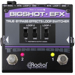 BigShot EFX Effects Loop Switcher