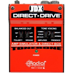 JDX Direct Drive Amp Simulator and DI