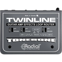 Twinline Effects Loop Interface for two amps